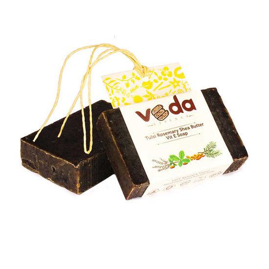 Veda Essence Tulsi Rosemary Shea Butter Vit E Soap (125 G)