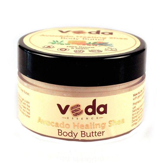 Veda Essence Avocado Healing Shea Body Butter (100 G)
