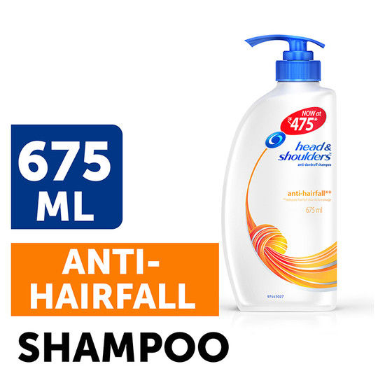 Head & Shoulders Anti Hair Fall Shampoo (675 Ml)